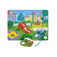 Dodo Toys Puzzle DP300285 - PUZZLE SORTER - IN CURTE