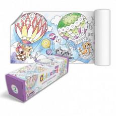 Dodo Toys Puzzle DP300290 - CARTE DE COLORAT DODO - AVENTURILE ANIMALUTELOR