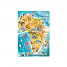 Dodo Toys Puzzle DPR300175 - PUZZLE IN RAMA - AFRICA