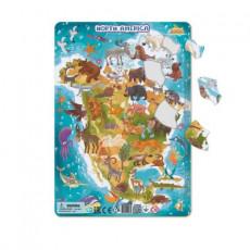 Dodo Toys Puzzle DPR300177 - PUZZLE IN RAMA - AMERICA DE NORD
