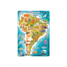 Dodo Toys Puzzle DPR300178 - PUZZLE IN RAMA - AMERICA DE SUD