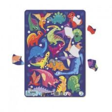 Dodo Toys Puzzle DPR300181 - PUZZLE IN RAMA - DINOSAURI