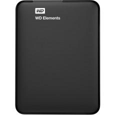"2,5"" Hard Disk (HDD) extern 1.0 TB Western Digital Elements Portable External, Black (USB 3.0) (WDBUZG0010BBK-WESN)"