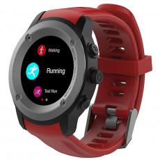 Ceas inteligent Maxcom FW17 (GPS), titanium/red