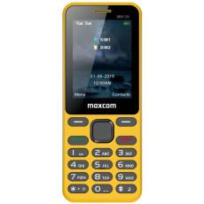 Telefon mobil Maxcom MM139, Yellow