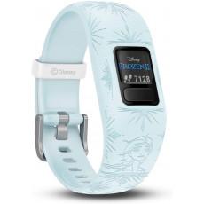Ceas cu GPS pentru copii Garmin Vívofit Jr. 2 - Disney Frozen 2 Elsa, Blue