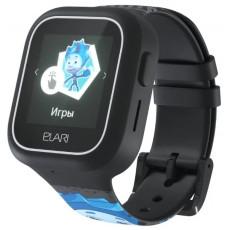 Ceas cu GPS pentru copii Elari FixiTime Lite, Black