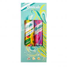 Sampon uscat Batiste Stylist XXL + Tropical, 200+200 ml