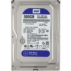 "3.5"" Hard disk (HDD) 500 Gb Western Digital Caviar Blue (WD5000AAKX)"