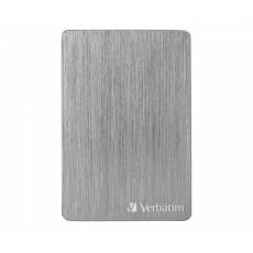 """2,5"""" Hard Disk (HDD) extern 1.0 TB Verbatim Store 'n' Go ALU Slim, Space Grey (USB 3.2) (VER_53662)"""