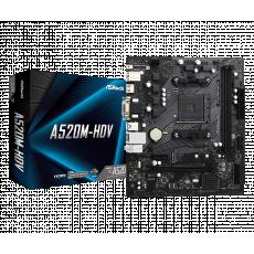 Placă de bază ASROCK A520M-HDV (AM4/AMD A520)