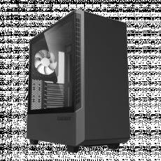 Carcasă Gamemax Panda ECO T802-E, Black (ATX)