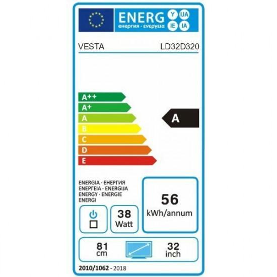 """Televizor LED 32 """" Vesta LD32D320, Black"""