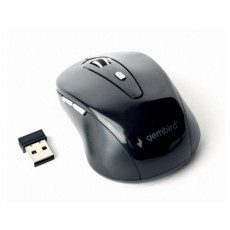 Mouse Gembird MUSWB-6B-01, Black, Bluetooth