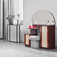 Masă de toaletă Ambianta Inter 2 (100 cm), Wenge