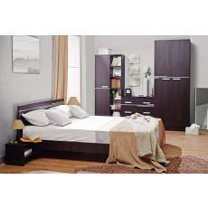 Set dormitor Ambianta Bravo, Sonoma Dark