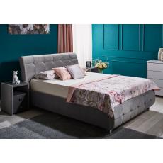Set dormitor Ambianta Samba, Grey