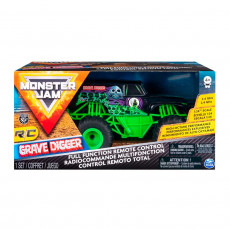 Spin Master Monster Jam 6044955 Mașina Grave Digger