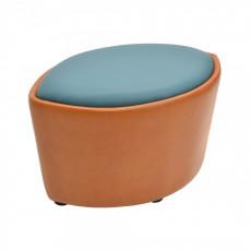 Taburet DP Verba, Blue/Orange