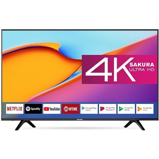 "Televizor LED 55 "" Sakura 60SU20, Black"