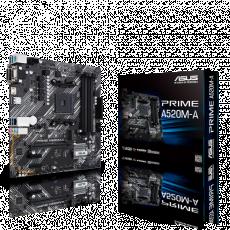 Placă de bază ASUS PRIME A520M-A (AM4/AMD A520)
