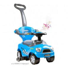 Tolocar Alexis Baby Mix Bayo Mega Car Albastru Mașină cu mâner, Синий