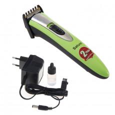 Машинка для стрижки волос Saturn ST-HC7381, Green