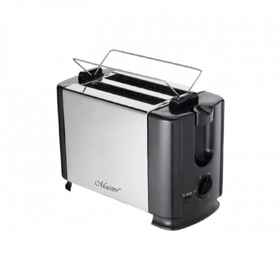 Prăjitor de pâine Maestro MR -701, Silver/Black