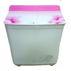 Maşină de spalat Ghiocel ET-85, White/Pink, 8.5 Kg