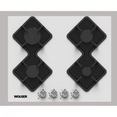 Plită încorporabilă Wolser WL-F 6401 GT W, White