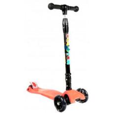 Trotinetă YKS 3-wheeled scooter 3+, Orange, Оранжевый