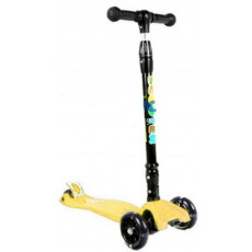 Trotinetă YKS 3-wheeled scooter 3+, Yellow