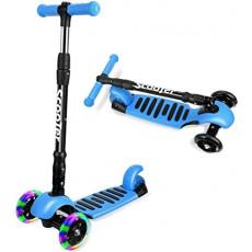 Trotinetă pliabilă YKS Foldable scooter 6+, Blue