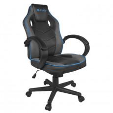 Fotoliu gaming Fury Chair Avenger S NFF-1353, Черный / серый/синий