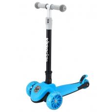 Trotinetă KikkaBoo Jett Blue 2020 3+