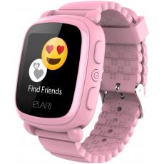 Ceas cu GPS pentru copii Elari KidPhone 2, Pink