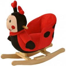 Balansoar cu sunete BabyGo Buburuza cea frumoasa, Красный