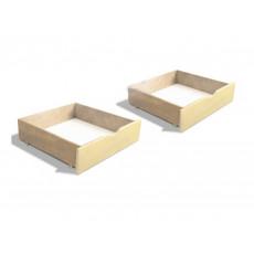 Lada pentru pat МЕБИГРАНД, комплект 2 шт. (2.0), Слоновая кость