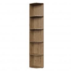 Угловое окончание SV - Мебель ГАРВАРД (25 cm) cu rafturi, Гиккори темный
