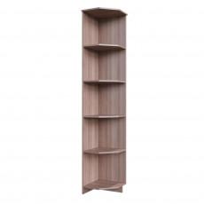 Угловое окончание SV - Мебель ГОРОД (39 cm), Ясень шимо тёмный / Ясень шимо светлый
