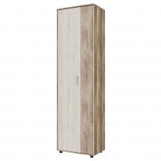 Dulap pentru haine cu 2 uși SV - Мебель ВИЗИТ 1 (60 cm), Каньон светлый / Гикори светлый