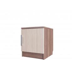 Noptieră SV - Мебель ЭДЕМ 5 (35 cm), Ясень шимо тёмный / Ясень шимо светлый