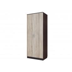 Dulap-cupeu SV - Мебель ЭДЕМ 5 (80 cm) ( накладные двери ), Дуб венге / Дуб сонома