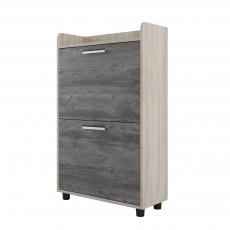 Tumbă pentru încălțăminte SV - Мебель ОБУВНИЦА № 6 (62 cm), Дуб сонома / Сосна джексон