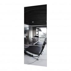 Oglinda pentru dulap-cupeu SV - Мебель № 19 (1.5m) на одну створку, Квадро