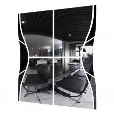 Oglinda pentru dulap-cupeu SV - Мебель № 19 (1.5m), Симфония