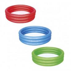 Piscină pentru copii Bestway 3-Ring Paddling Pool 51025, 122х25 cm, 140 L