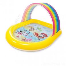Piscină pentru copii Intex Rainbow Arch Spray 57156, 86 × 147 × 130 cm