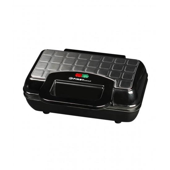 Aparat de gatit vafe First 005305-4, Black/Inox