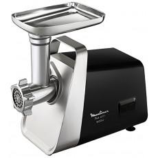 Maşină de tocat carne Moulinex ME3068, Black/Inox